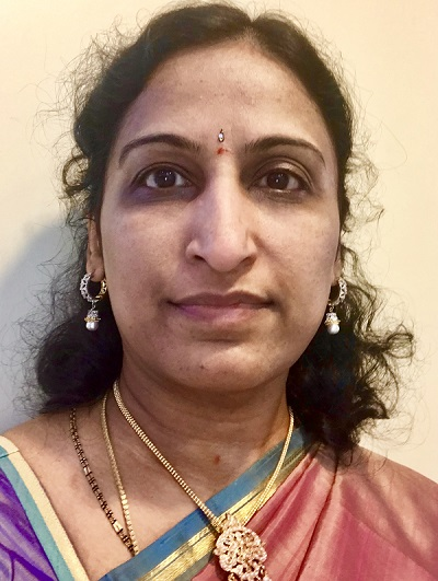 Lakshmi Emani is a Cochair for the Cultural committees of Nata 2020 Atlantic City